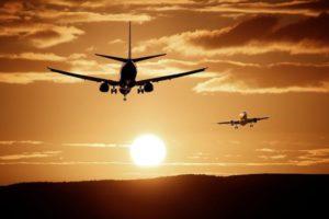 Per Flugreise in den Urlaub