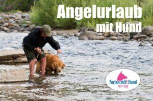 Angeln mit Hund