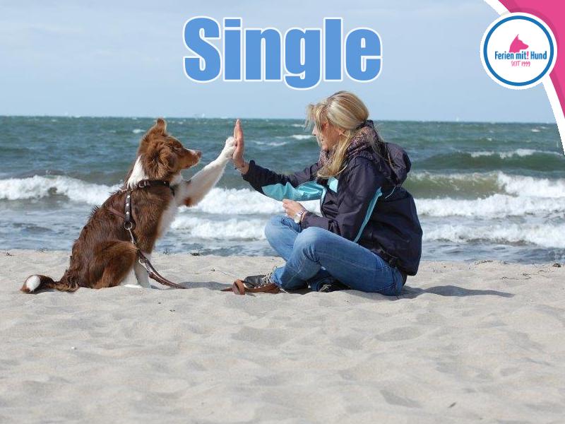single urlaub mit hund am meer)