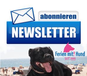 Abonnieren Sie unseren Ferien mit Hund Newsletter