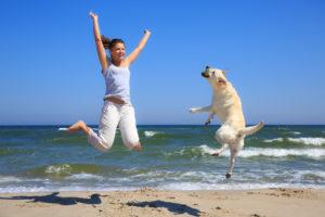 Familienurlaub mit Hund an der dänischen Nordseeküste